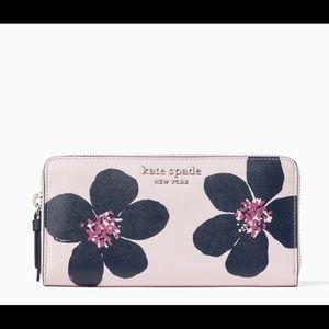 "Kate Spade ""Cameron Grand Flora Large Wallet"""